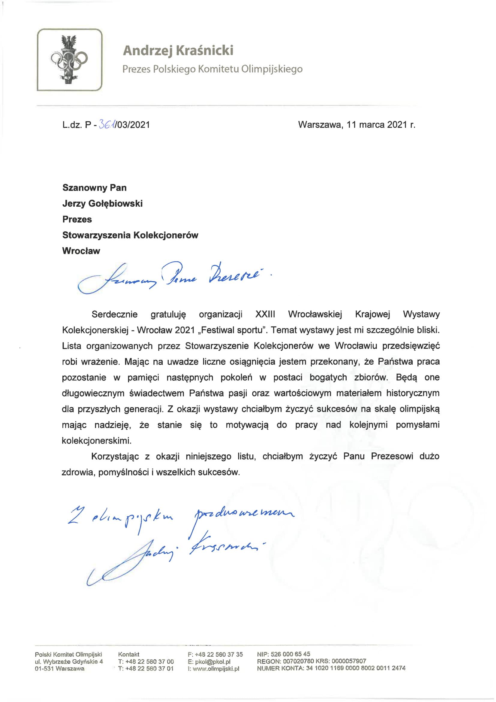 PKOl list Stow Kolekcjonerow WRO (2)-1