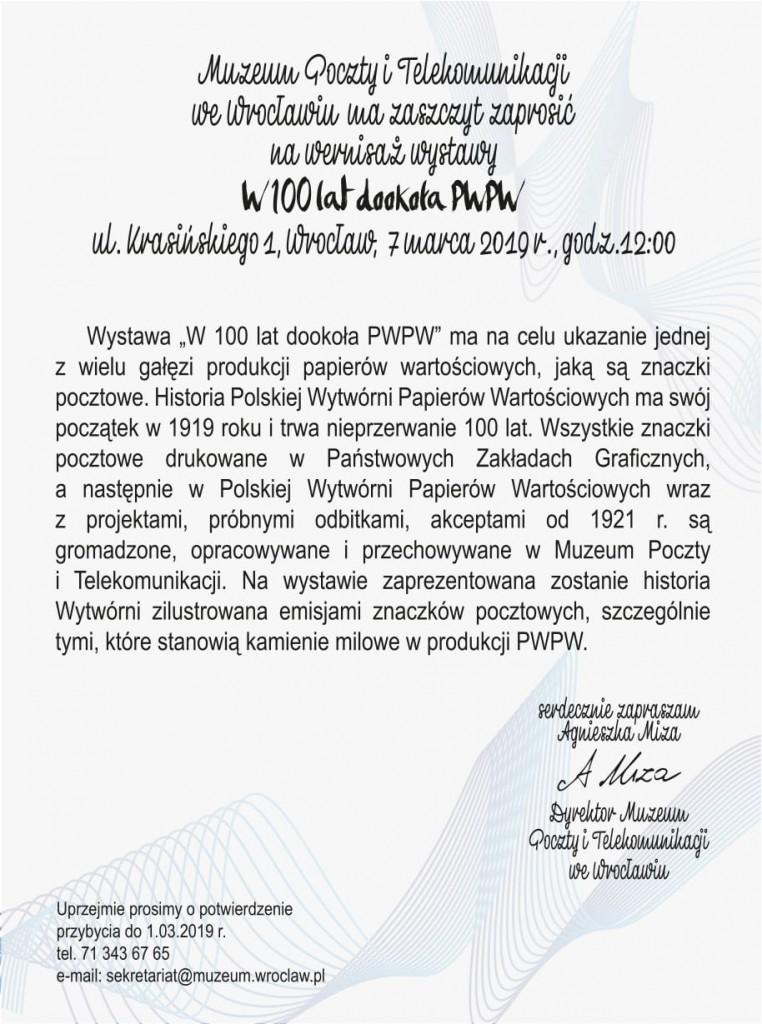 w 100 lat dooko+éa PWPW - zaproszenie-2