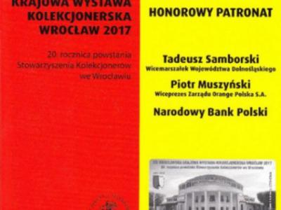 XIX Wrocławska Krajowa Wystawa Kolekcjonerska – Wrocław 2017.