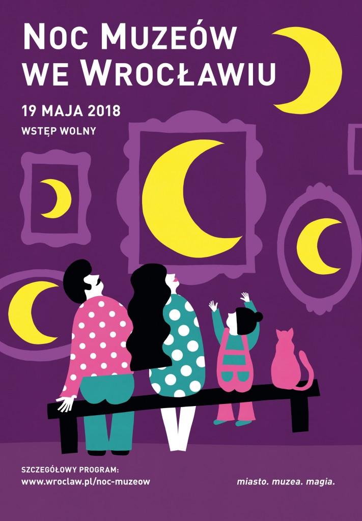 2. noc Muzeów 2018 plakat
