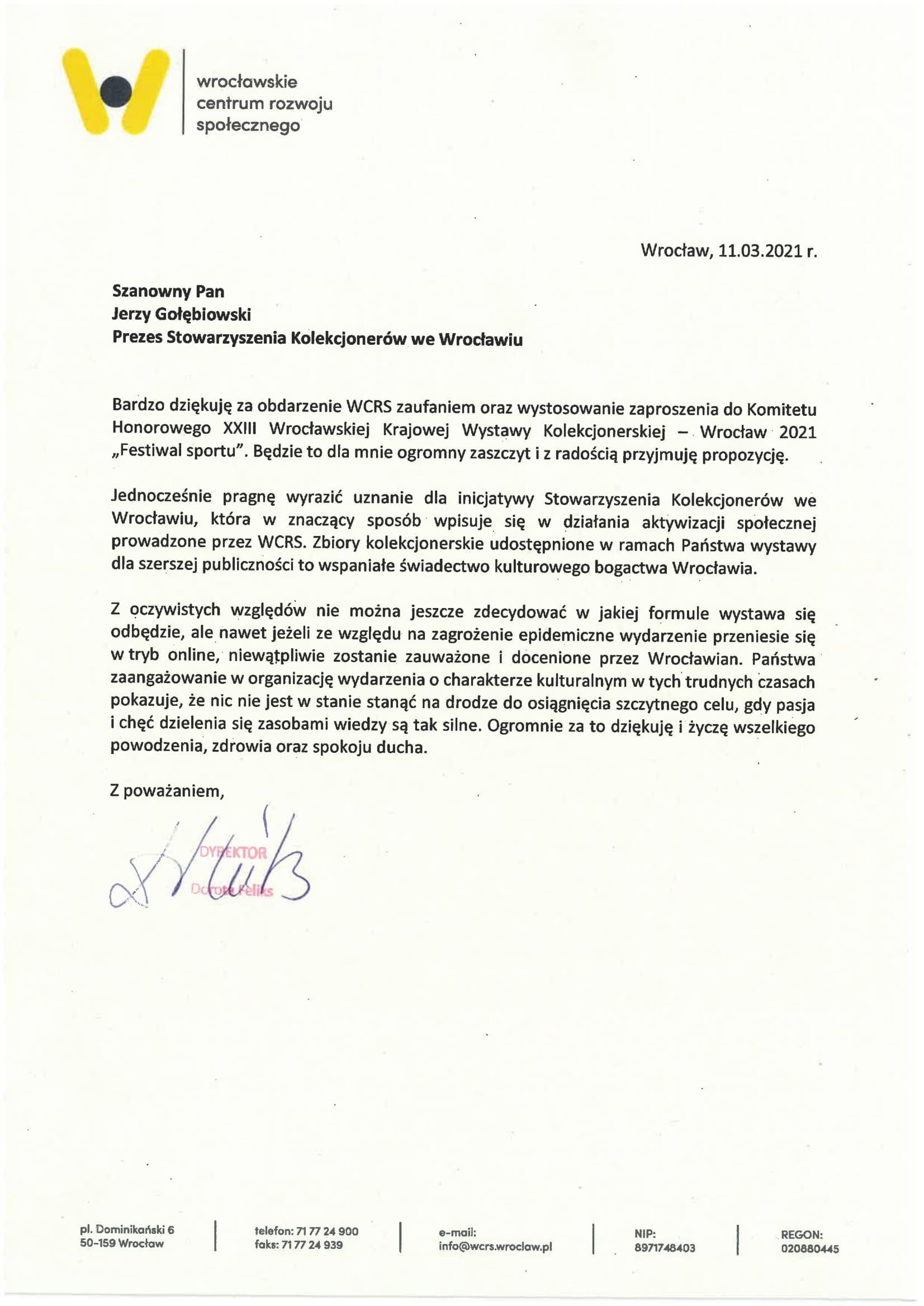 Stowarzyszenie Kolekcjonerow we Wroclawiu-CRSS-1